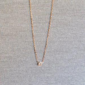 Elegant Crystal Rose Gold Pendant